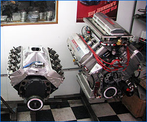 Custom Racing Engine Builds